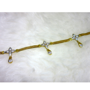 Gold Fancy Ledies Bracelet