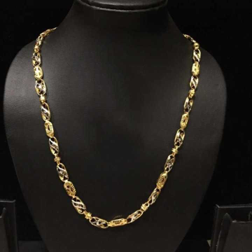 22 K Gold Hollow Chain. NJ-C0292