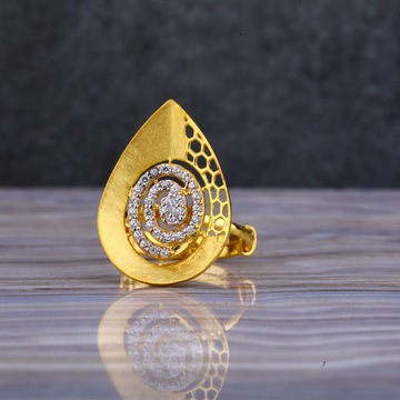 22ct Gold Stylish Ring LLR105