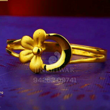 916 Highpolish Plain Casting Ladies Ring LRG -0554