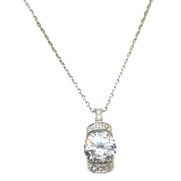 925 Sterling Silver Diamond Necklace Chain MGA - CHS1738