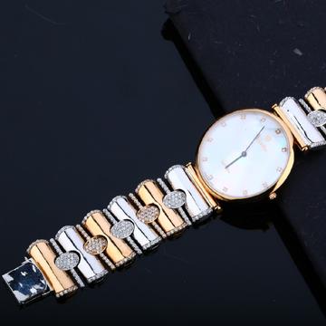 Rose Gold Exclusive 76 Melting Designer Mens Watch-RMW01