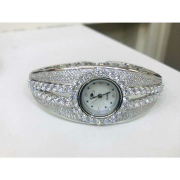 92.5 Sterling Silver Broad Watch Ms-2883
