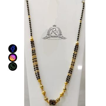 22 carat gold traditional ladies mangalsutra RH-lM482
