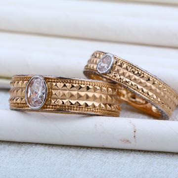 Rose Gold 18K Couple RING-RCR04