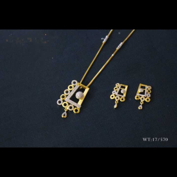 22 K Gold Fancy Dokiya Set. NJ-P01151