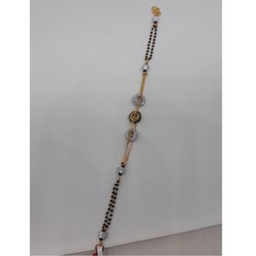 916 Gold CZ Mangalsutra Bracelet IO-B003