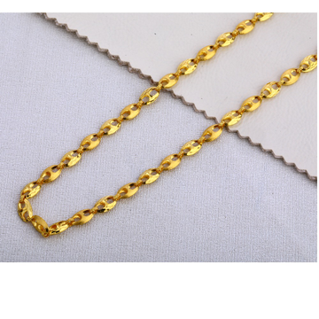 22KT Gold Gents   Choco Chain MCH394