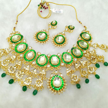Jadtar necklace set P1050