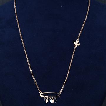 18KT/750  Rose Gold Zelas Pendent Chain For Women