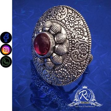 silver ladies fancy rings RH-LR572
