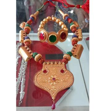 Gold Ekdaniyu And Ramrami A Traditional Jewlery Of Patel Community Of Kutch