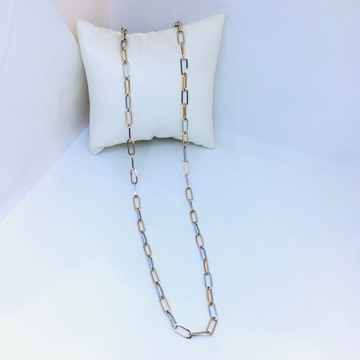 DESIGNING FANCY ROSE GOLD CHAIN by