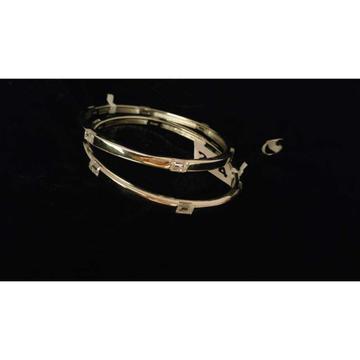 92.5 Sterling Silver Rose Gold Bangle(Kadli,Kangan,Kada,Patla) Ms-3786