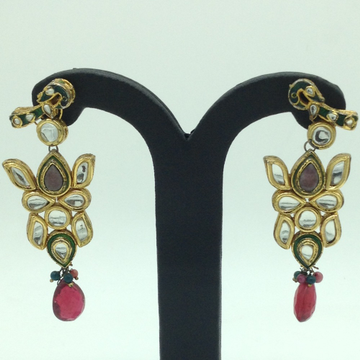 Kundan Stones Ear Hangings JER0065