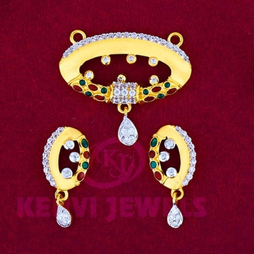 916 Gold Mangalsutra Pendal with Butti MSP-013