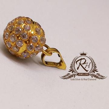 22 carat gold vartical pendal RH-PL730