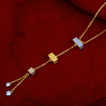 Chain with pendent fancy cz 916 by