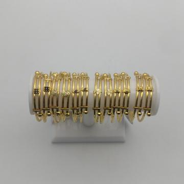 916 copper bacha kadli design by Saideep Jewels