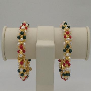 Pearls, Corals And Jades VaibhavBangles JBG0072