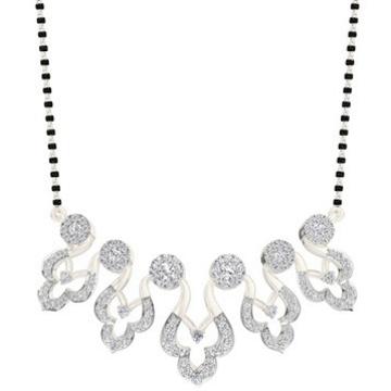 Buy hallmark diamond mangalsutra at royalediamods.... by