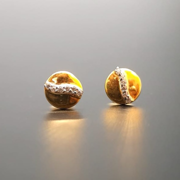 18 ct gold tops for round shape