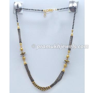 22kt gold designer mangalsutra pj-m003