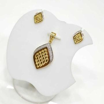 22 K Gold Fancy Pendant Set. nj-p01180