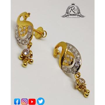 22 carat gold antiq earrings RH-ER257