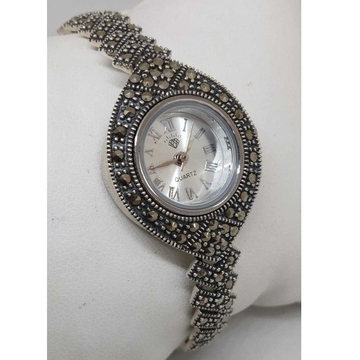 92.5 sterling silver antique ladies watch