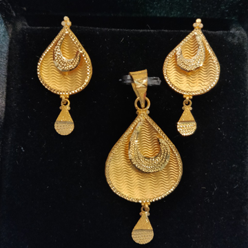 Fancy Latest Plain Gold Casting Jewelry by Gold & Silver Palace