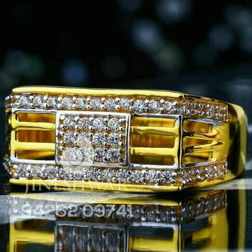 Attractive Fancy Gents Ring 916