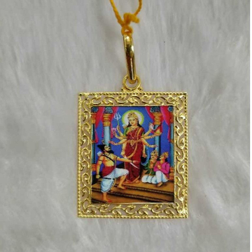 Photo mina pendant in gold