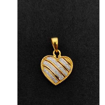 22k Gents Fancy Gold Pendant P-44539