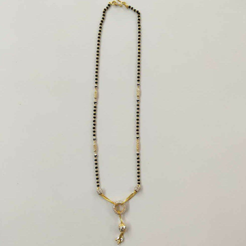 22k Gold Fancy Single Line Mangalsutra DVJ-024