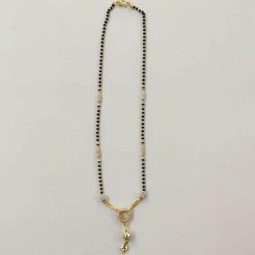 22k Gold Fancy Single Line Mangalsutra DVJ-024 by Deepvimal Jewellers