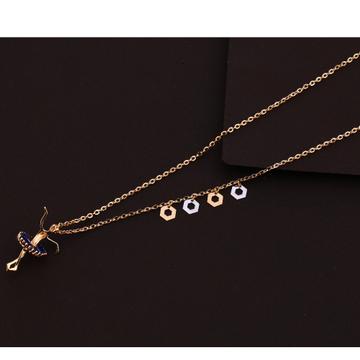 18KT Rose Gold stylish Ladies Tanmaniya Necklace  RTM177