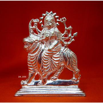 Silver Jay Ambe Maa Statue(Murti) MRT-121