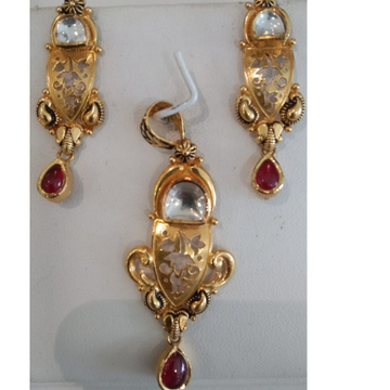916 Hallmark Gold Classic Pendant Set  by