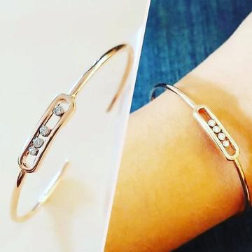 18ct Rose Gold Bracelete by