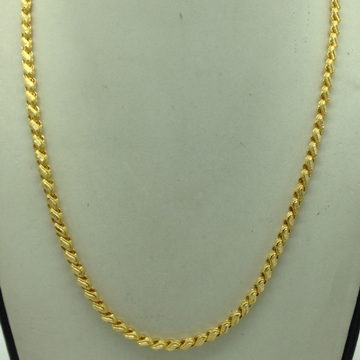 Gold Hollow Chain JDJ1001