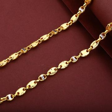 Men's Designer 22K Turkey Gold Chain - MTC44