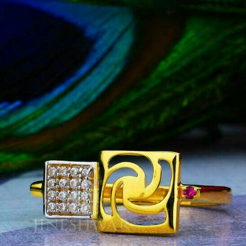 Fancy Exclusive Cz Ladies Ring LRG -0050