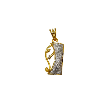 22K Gold Ganesh Gents Pendant MGA - PDG1213