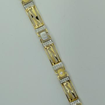 22c/916 light weight gents bracelet