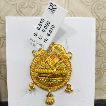 22  carat gold classical ladies mangalsutra RH-MN757