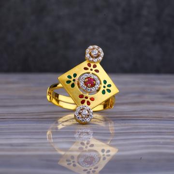 22kt Gold Designer Gold Ring LLR125