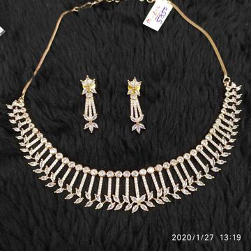 Beautiful Diamond Necklace Set#928