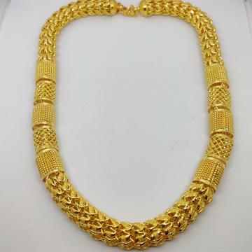 916 Gold Fancy Gent's Super Holo Chain