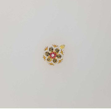 22K / 916 Gold Gents Cz Attractive Ring